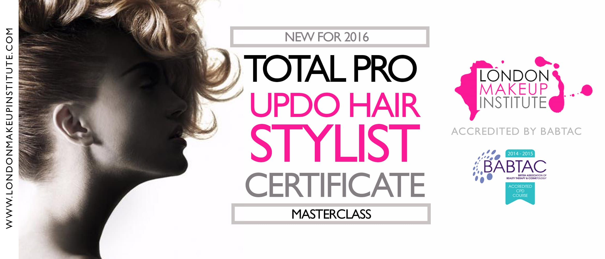 Professional Bridal Hair Course