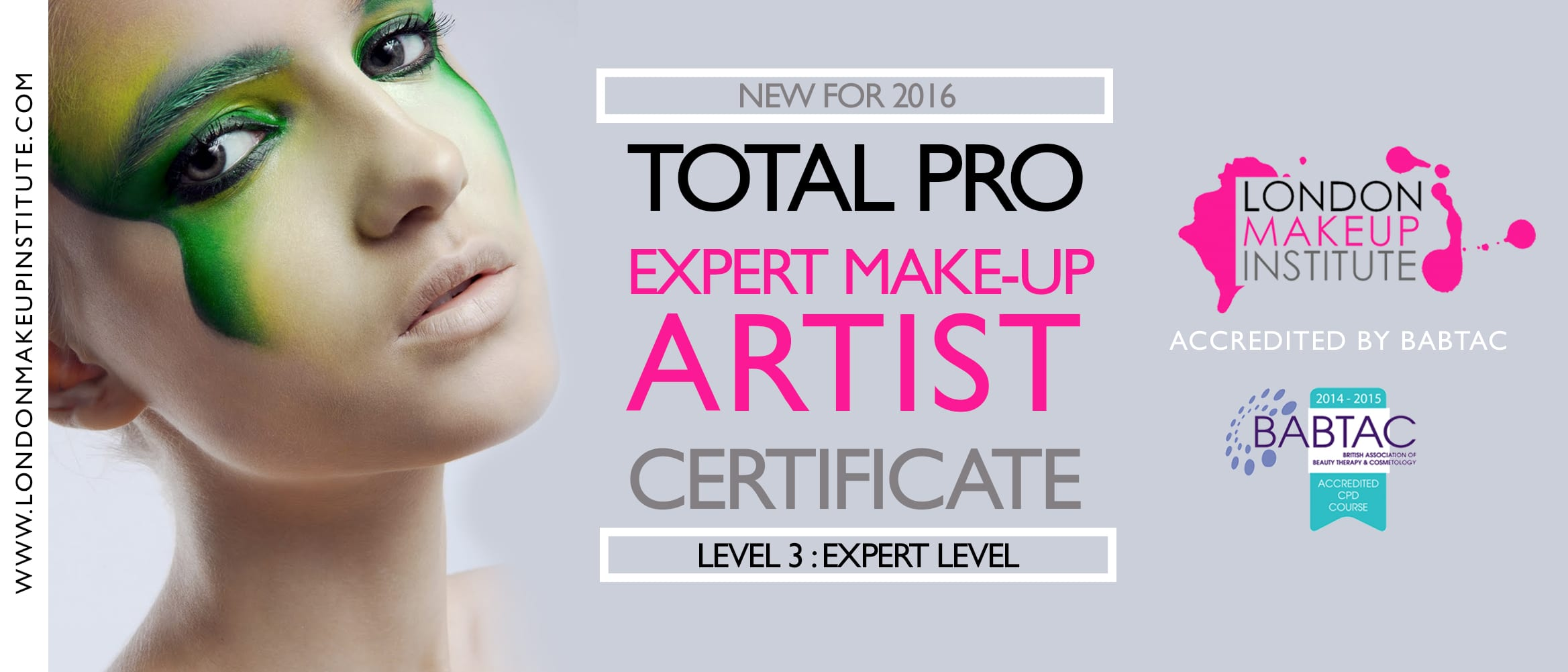 L3 Total Pro Expert Make Up Artist Certificate